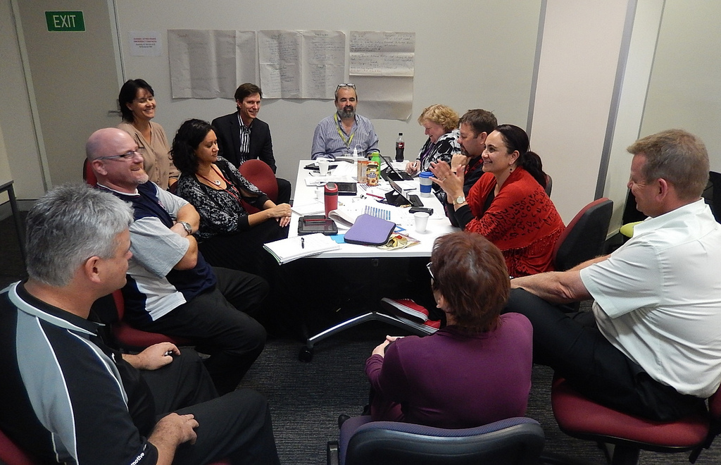 Group Discussion – Flipped Learning (Photo credit: mikecogh)