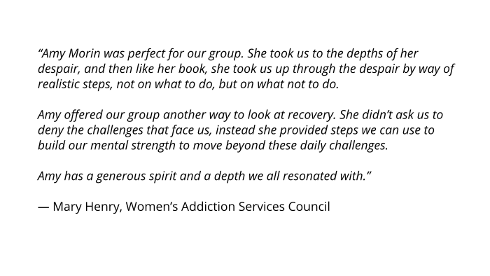 womens-addiction-servicess-council-amy-morin