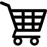 shopping-cart-of-checkered-icon
